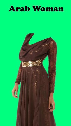 Arab Woman Photo Montage
