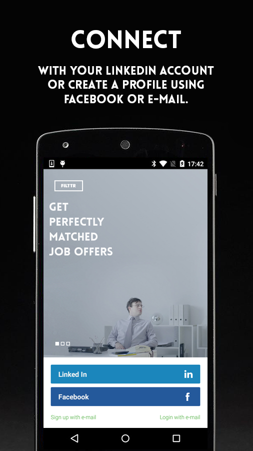 FILTTR perfectly matched jobs- screenshot