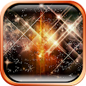 Glowing Stars Live Wallpaper icon