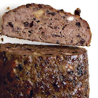 Greek-Style Meatloaf with Olives, Feta, and Red Wine.