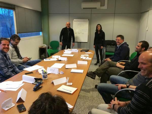 Photo: Sessió de Formació de l'Equip en Habilitats Comercials  06/02/15