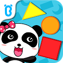 Baby Panda Learns Shapes mobile app icon