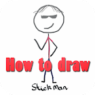 How to draw stickman icon