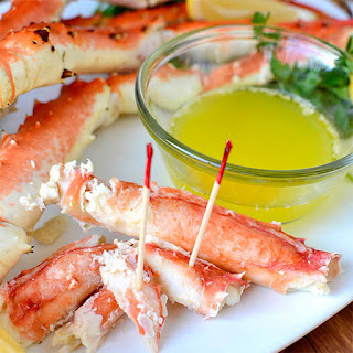 Drunken Alaska King Crab Legs Recipe
