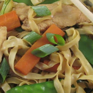Chinese Noodle Chicken.