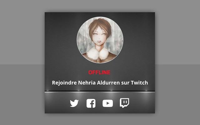 Nehria Aldurren Twitch