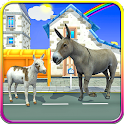 Farm Donkey City Adventure icon