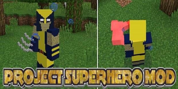 Project Superhero Mod - náhled
