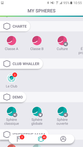 Whaller - Create your own secured social networks ss2
