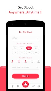 B Positive Blood Donors Online - náhled