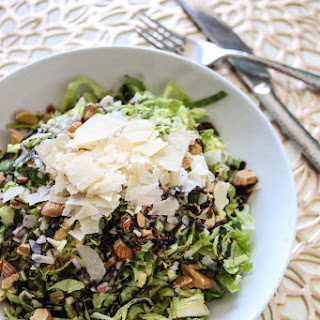 Brussels Sprouts Salad with Lemon Shallot Vinaigrette Recipe