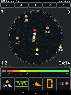 GPS Test Screenshot