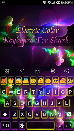 Electric Color -Emoji Keyboard