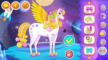 Unicorn Dress Up Games for Girls