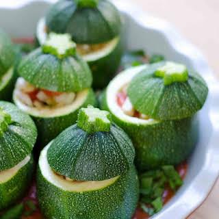 Vegetarian Stuffed Zucchini Recipes.