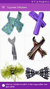 Scarves Stickers- screenshot thumbnail