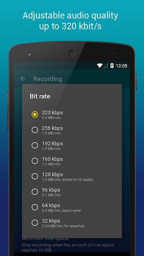 Hi-Q MP3 Voice Recorder (Free) 2.4.1 screenshots 5