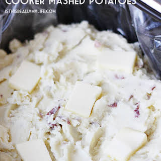 Make-Ahead Slow Cooker Mashed Potatoes.