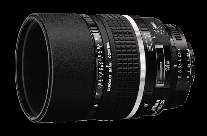 Nikon 105mm f / 2 DC