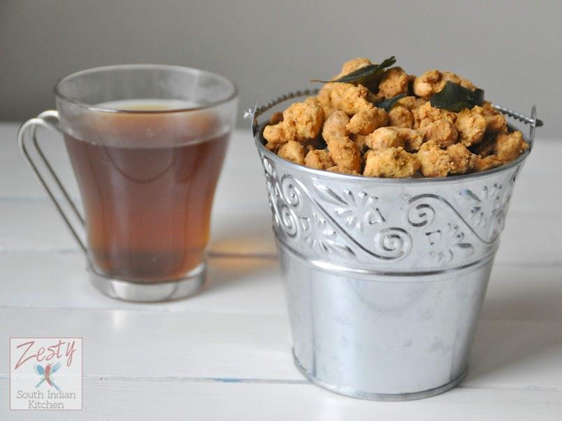 Spicy peanuts/ Masala kappalandi