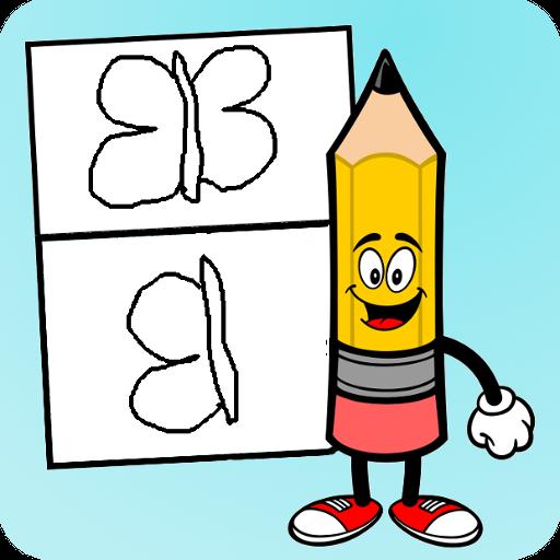 How to draw step-by-step 娛樂 App LOGO-硬是要APP