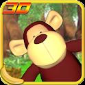 Jungle Monkey Fruit 3D Games