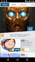 Screenshot of JeuxActu