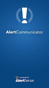 AlertCommunicator - náhled