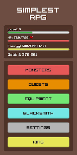 Simplest RPG Game - Text Adventure modavailable screenshots 9