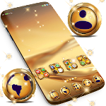 Gold Launcher Theme For Huawei Icon
