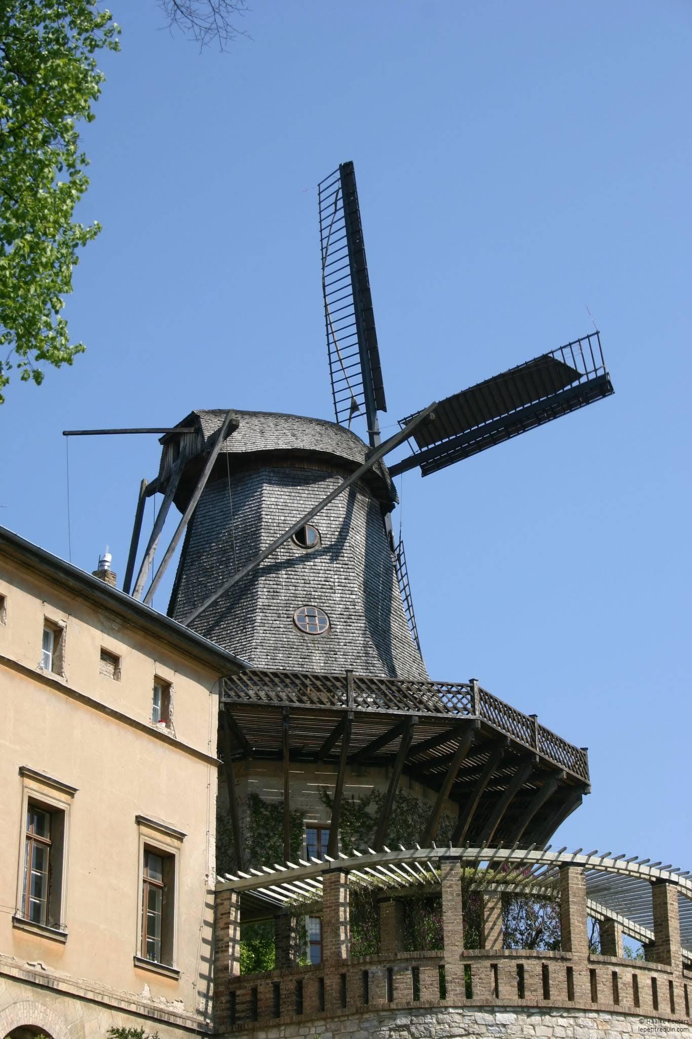 Historische Mühle von Sanssouci Potsdam (Le petit requin)