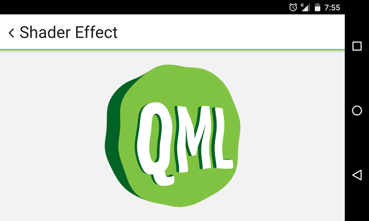 QML Creator- screenshot