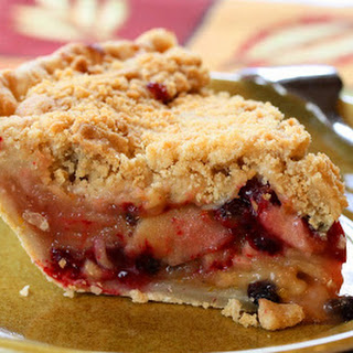 No. 46 - Apple, Cranberry & Currant Crumb Pie