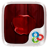 Red apple GO Launcher Theme