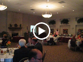 Video: Cutting of the Cake by Incoming President Dennis Robinson - June 10, 2011