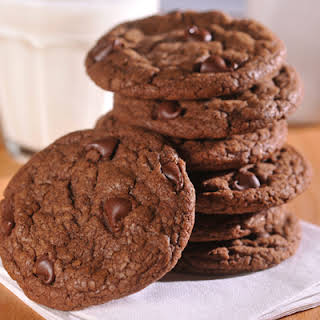 Ultimate Chocolate Chocolate Chip Cookies.