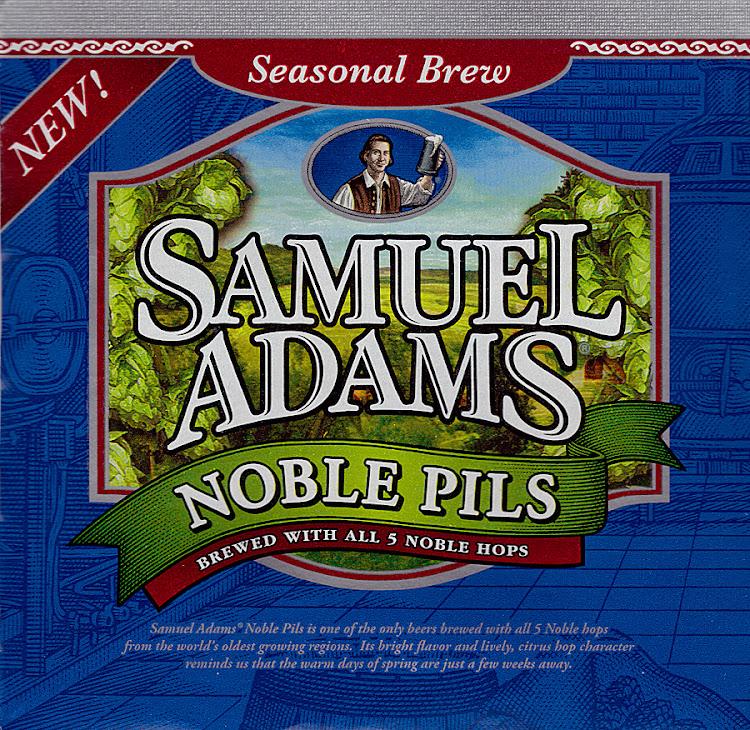 Logo of Samuel Adams Noble Pils