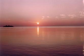 Photo: #016-Coucher de soleil sur les Maldives