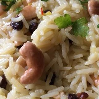Rice Pilaf with Mixed Nuts - Ramadan Recipes