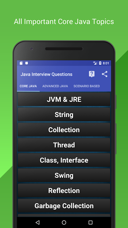 Java Interview Questions and Tutorials – (Android Apps) — AppAgg