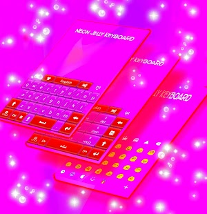 Neon Jelly Keyboard - náhled