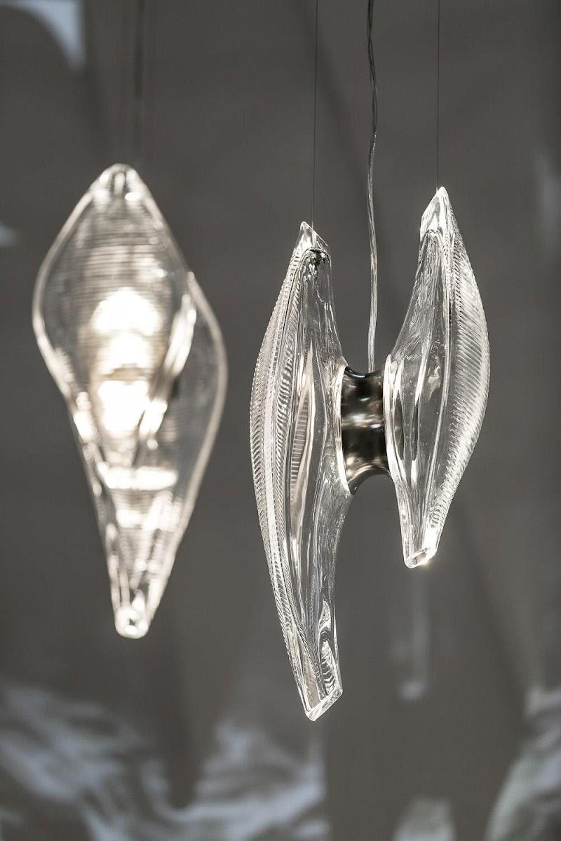 Lasvit presenta Duna, una lámpara concebida por Zaha Hadid Design