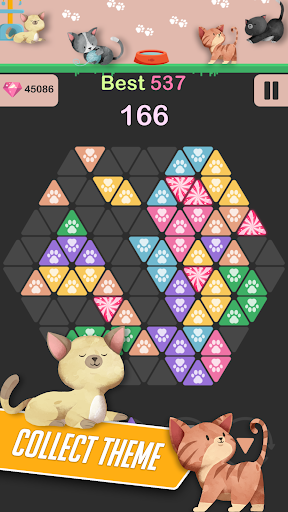Triangle Candy - Block Puzzle 1.2 {cheat|hack|gameplay|apk mod|resources generator} 4