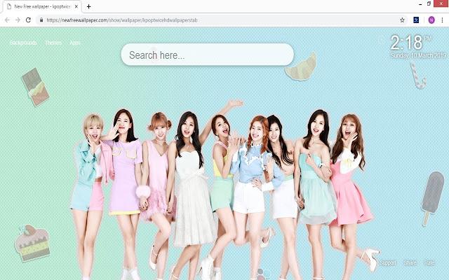 Kpop Twice HD wallpapers tab