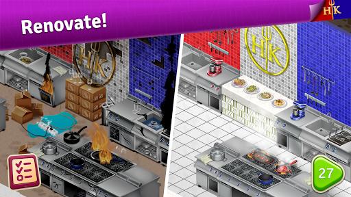 Hell's Kitchen: Match & Design apkpoly screenshots 1