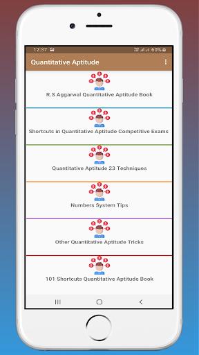 RS Aggarwal Quantitative Aptitude OFFLINE 1.4 screenshots 2
