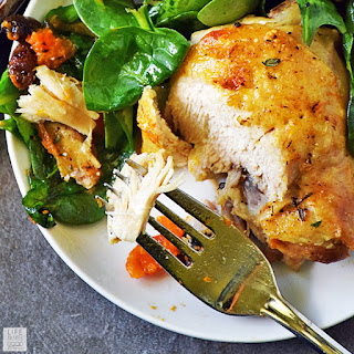 Roasted Chicken Thighs With Vegetables Recipes