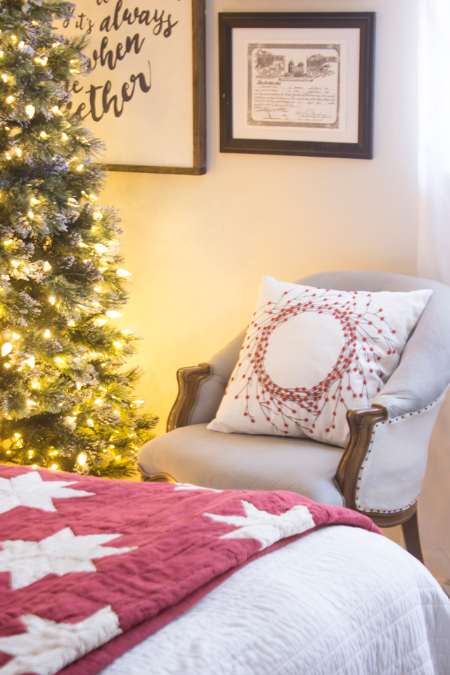 Decorate A Christmas Chair