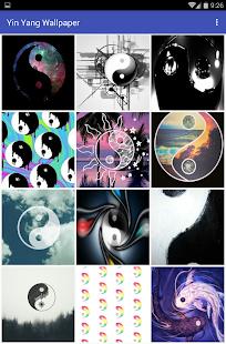Yin Yang Wallpaper - náhled