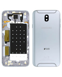 Galaxy J7 2017 Back Cover DUOS Silver/Blue